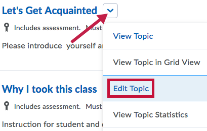 Identifies Edit Topic