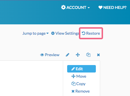 Restore Deleted Questions