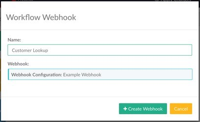 Figure 1 Workflow Webhook