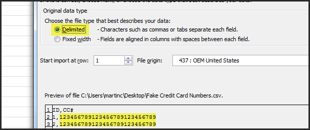 working with credit card numbers in infusionsoft pro
