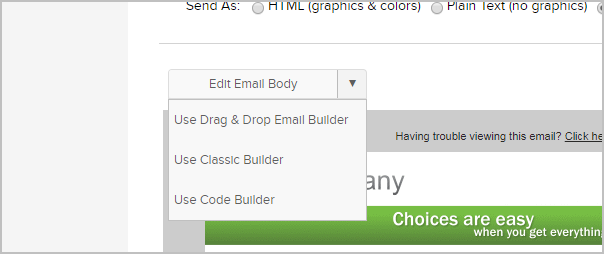Legacy Template Library Email Builde Infusionsoft Pro