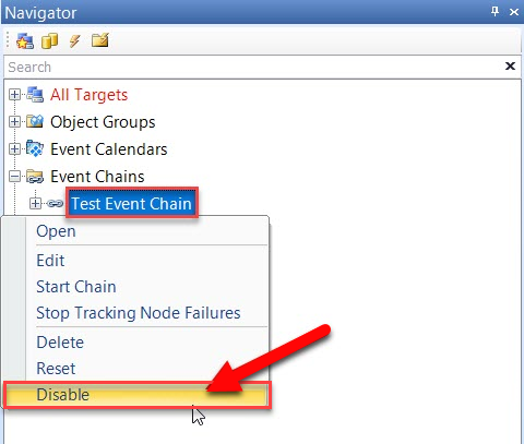 Disabling SentryOne SQL Server Event Object