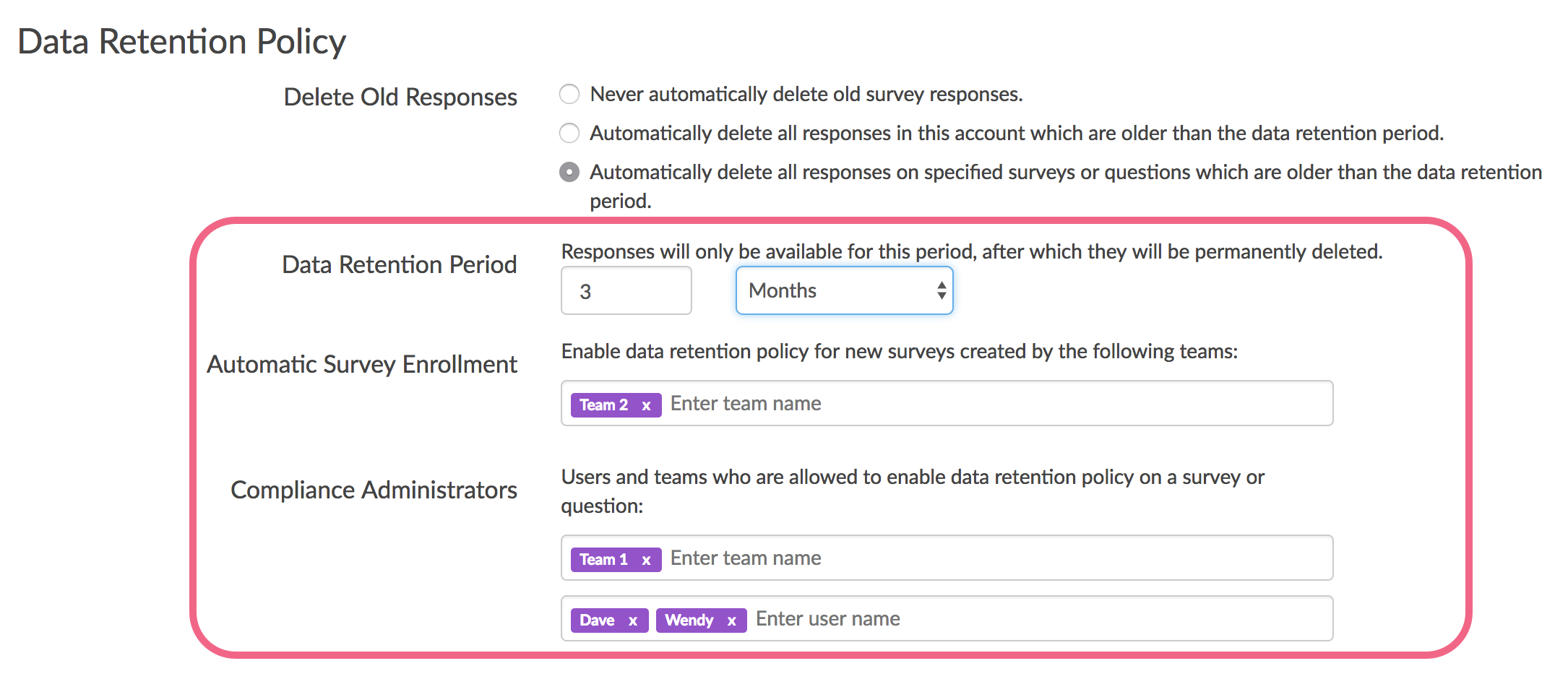 DRP Setting: Set up automatic enrollment and Compliance Administrators