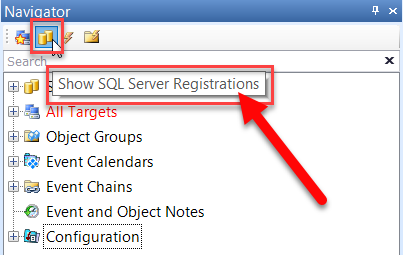 SentryOne Show SQL Server Registration
