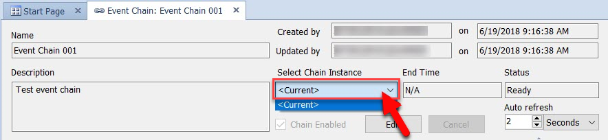 SentryOne Select Chain Instance