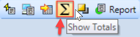 SentryOne Top SQL tab Show Totals toolbar button