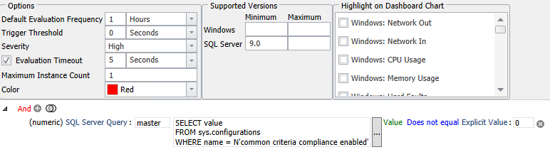 SentryOne Common Criteria Compliance Enabled