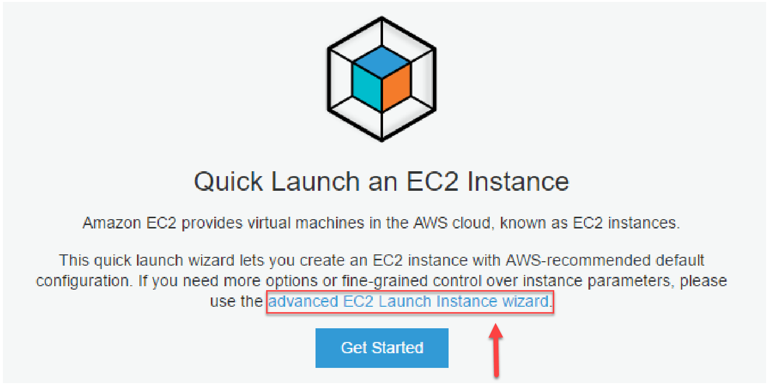 EC2 advnaced Launch instance wizard