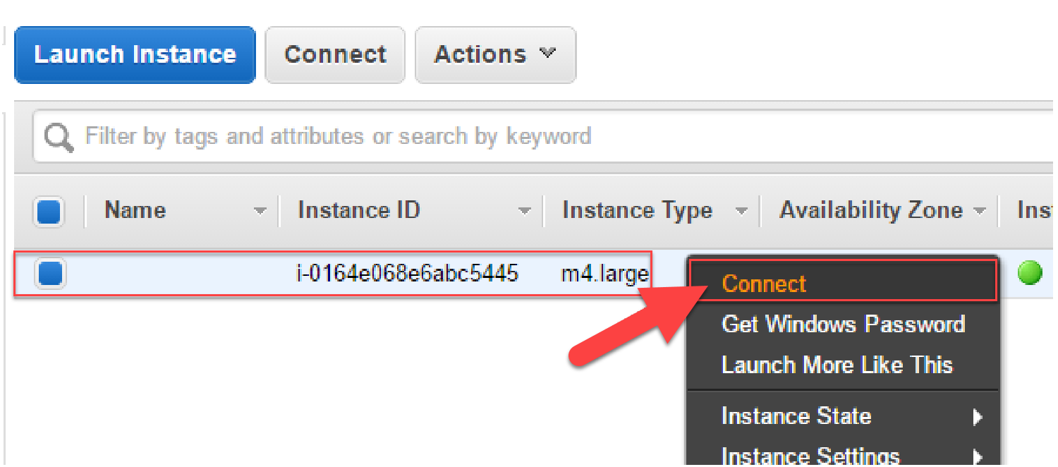 EC2 Connect to your instance