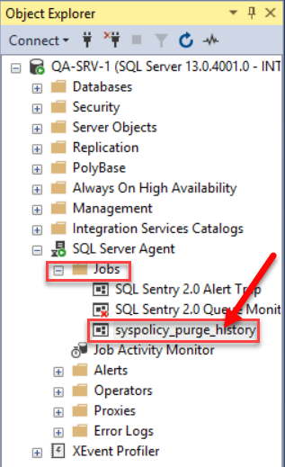 SentryOne Select Job Step