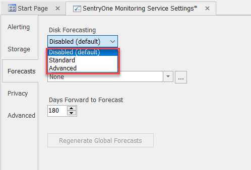 SentryOne Select Standard or Advanced