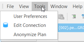 SentryOne Tools Menu