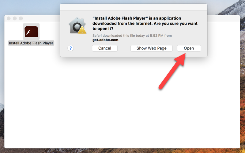 adobe flash player installer free download
