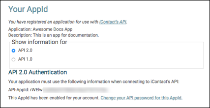 Getting started with the icontact api pdf.