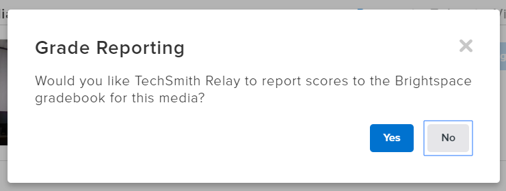 Grade Reporting screen