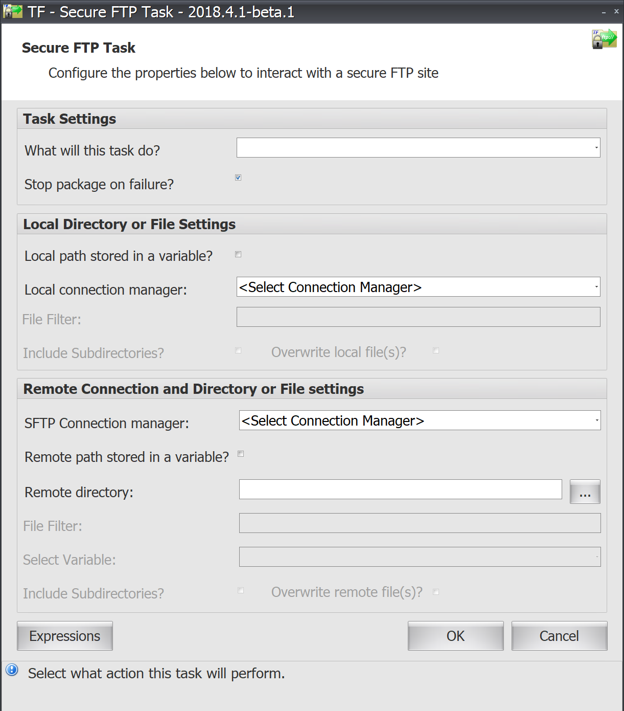 Task Factory Secure FTP Task