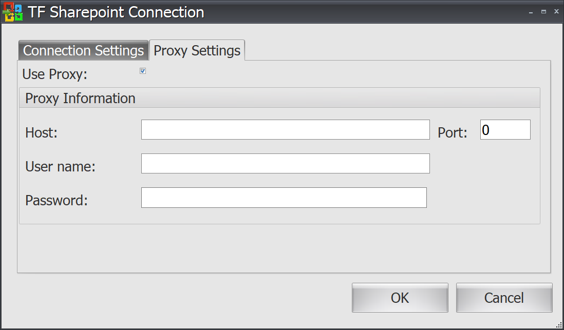 Task Factory Sharepoint Connection Proxy Settings