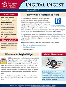 Thumbnail of Digital Digest Newsletter