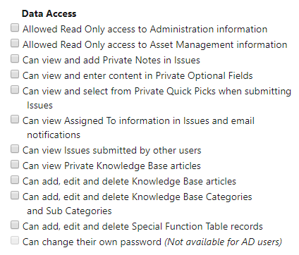 Permissions Data Access