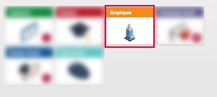 Indicated Employee Tab
