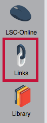 Identifies Links icon