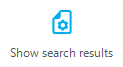 DOC xPress Metadata Viewer Show search results button