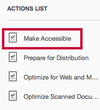 Identifies Make Accessible