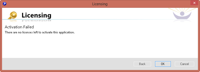 SentryOne  Workbench Licensing Activation Failed