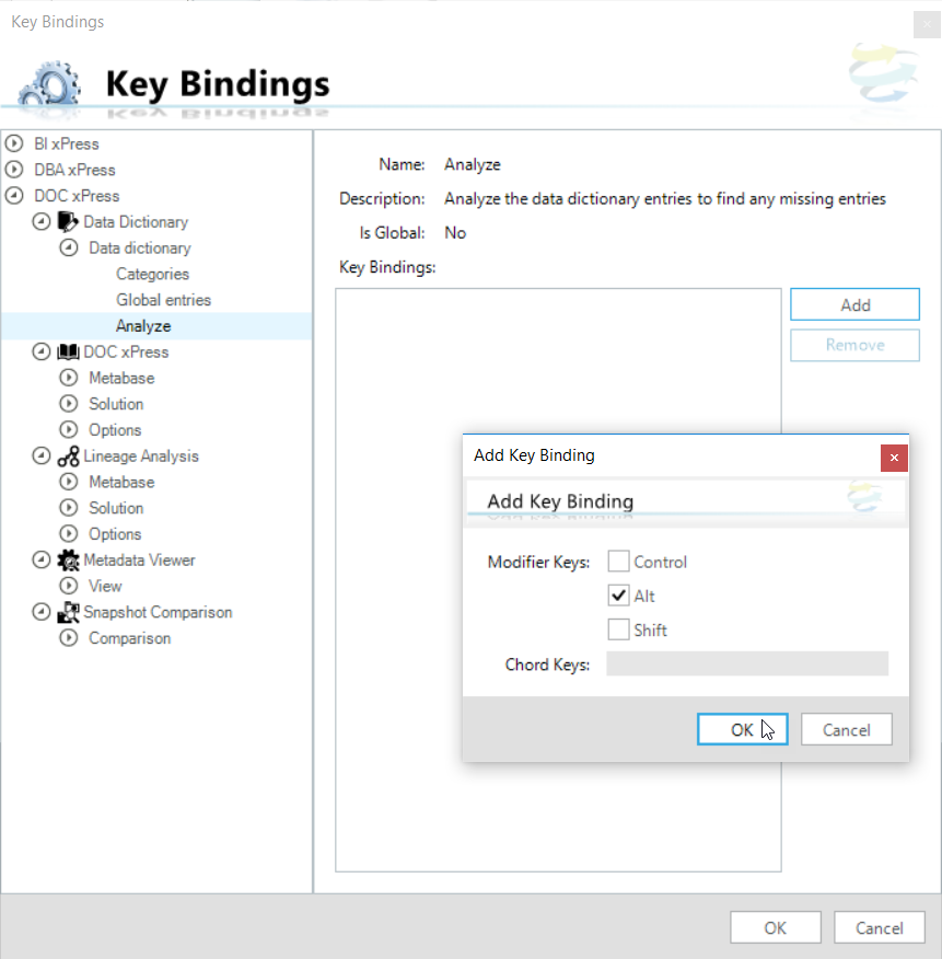 SentryOne  Workbench Key Bindings