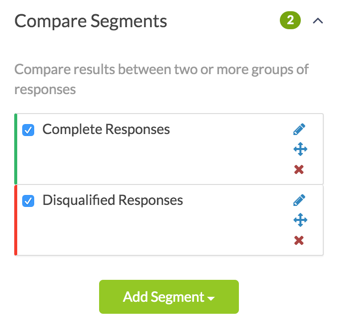 Segment by Multiple Response Statuses