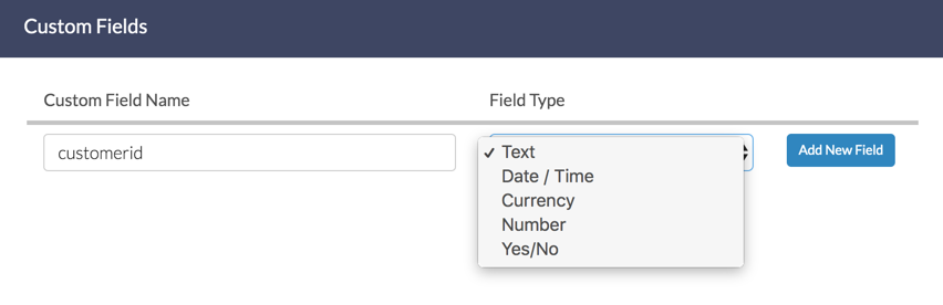 Create Custom Contact Field