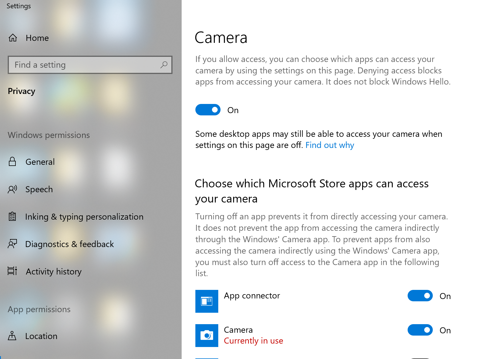 MS Store apps list