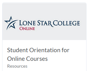 Shows Student Orientation for Online Courses