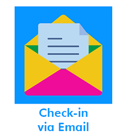 Check-in via Email