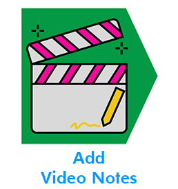 Add Video Notes