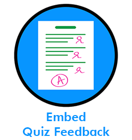 Embed Quiz Feedback