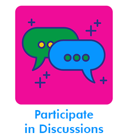 Participate in Discussions