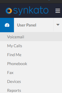 Access Voicemail from User Panel